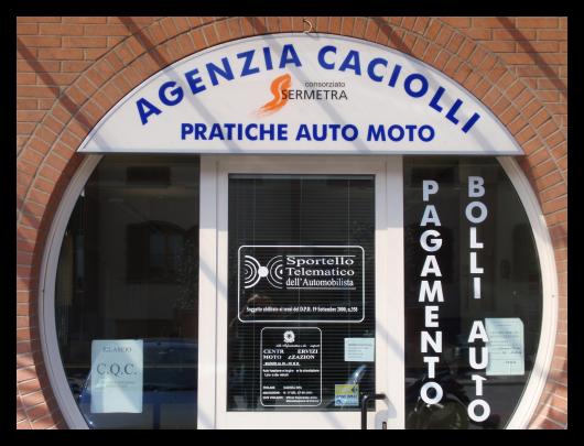 Agenzia Caciolli - Vista Frontale